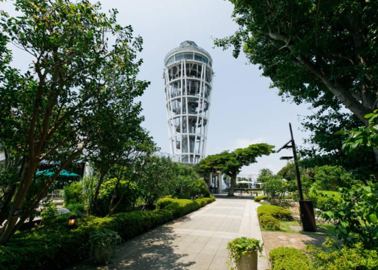 江之島海蠟燭高59.8公尺