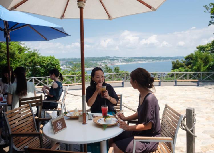 吃美食看海景,開心聊天好紓壓♪
