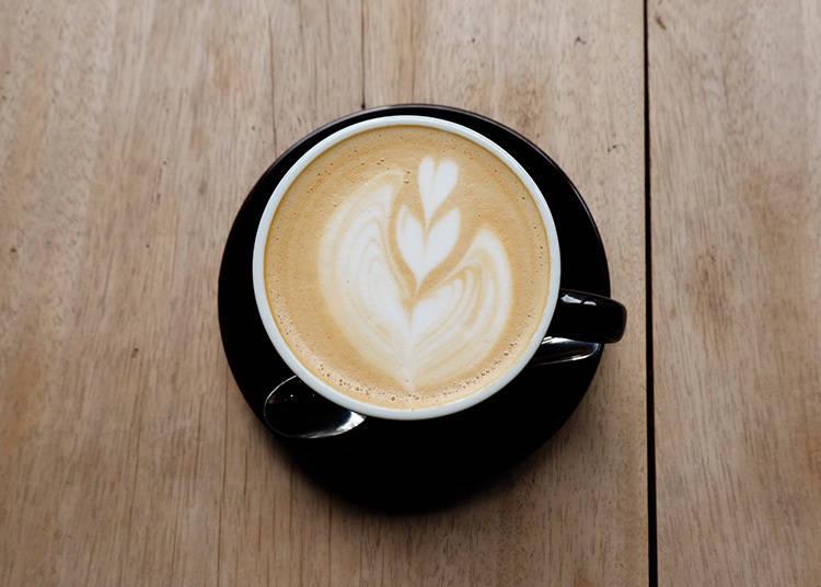 CAFÉ LATTE 450日圓