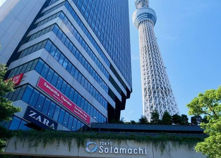東京晴空塔(R)下的東京晴空街道(solamachi)超好逛!必逛好店、排隊美食全攻略
