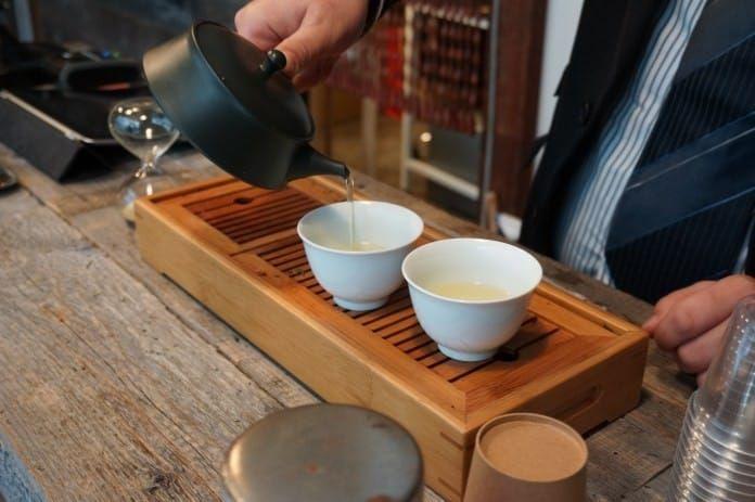 蔵前 Nakamura Tea Life Store試飲