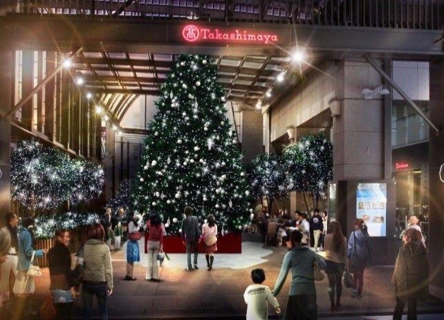 新宿冬季聖誕燈飾活動「MINA MIRUMI」2