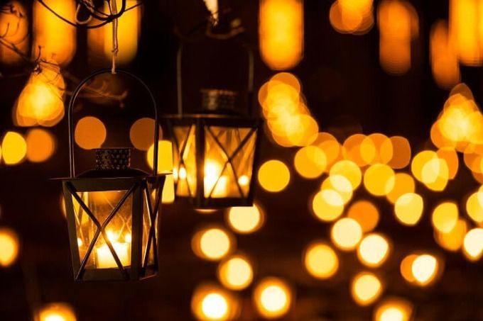 輕井澤高原教會 夏日蠟燭