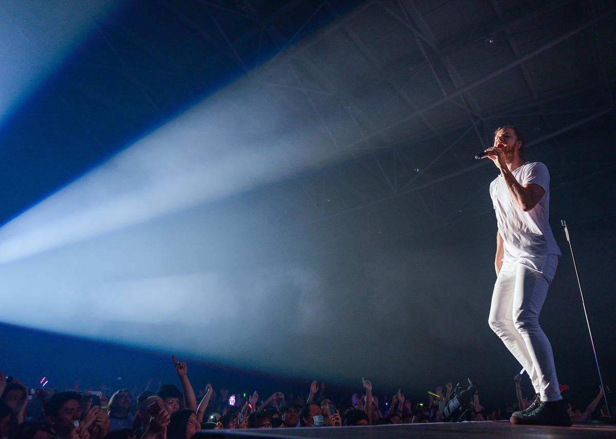 2年前曾在台灣舉辦演唱會,謎幻樂團對台灣夜市一遊仍津津樂道。(Live Nation理想國提供)
