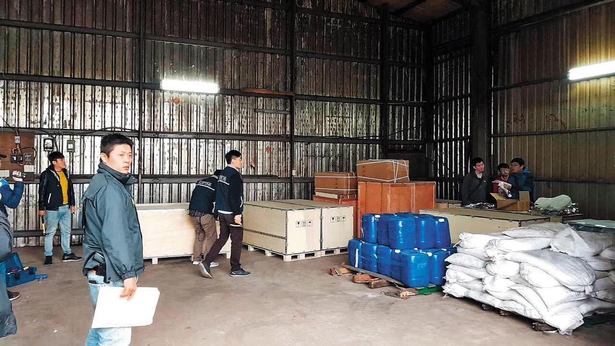 李嫌在新北、桃園等地開設4處製毒工廠,全部被警方突破。(翻攝畫面)
