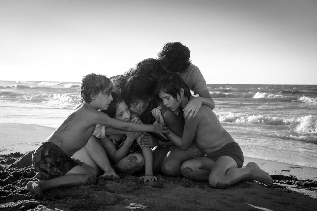 代表墨西哥角逐外語片的《羅馬》有望橫掃本屆各大賽事的外語片獎項。(Netflix提供)