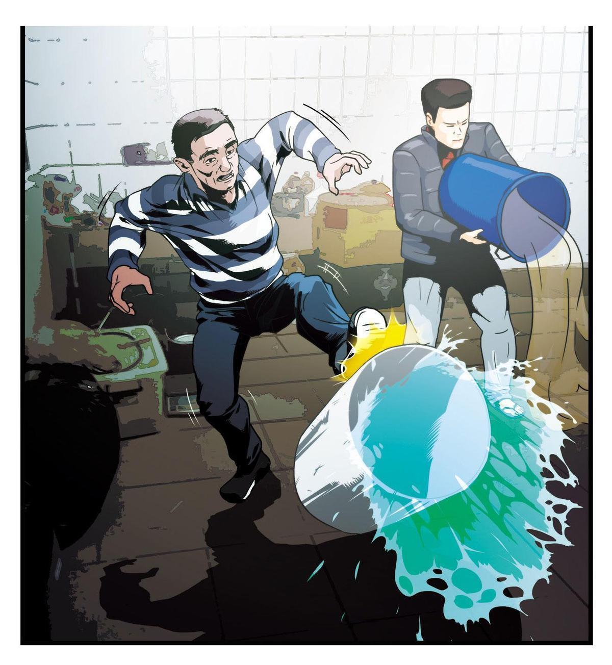 李嫌發現警方攻堅時,命令幹部將安毒半成品與成品全數倒掉滅證。