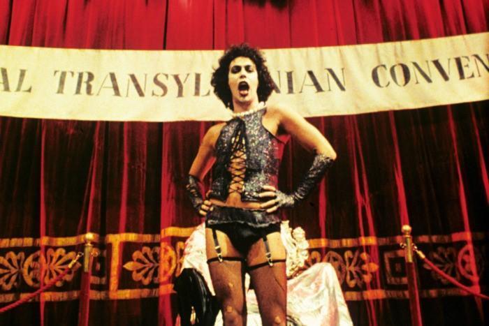 有「邪典電影之王」稱號的《洛基恐怖秀》是奇幻影展的秒殺招牌。(翻攝自www.vulture.com)