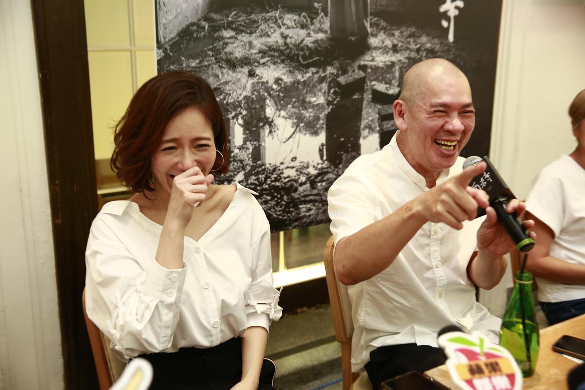 蔡明亮稱讚尹馨沒有尺度,他一直看好她。
