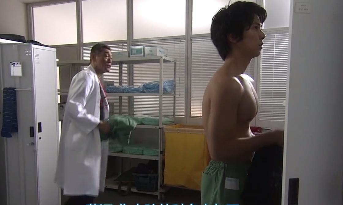 山下智久在《空中急診英雄》第三季有裸胸。(翻攝網路)