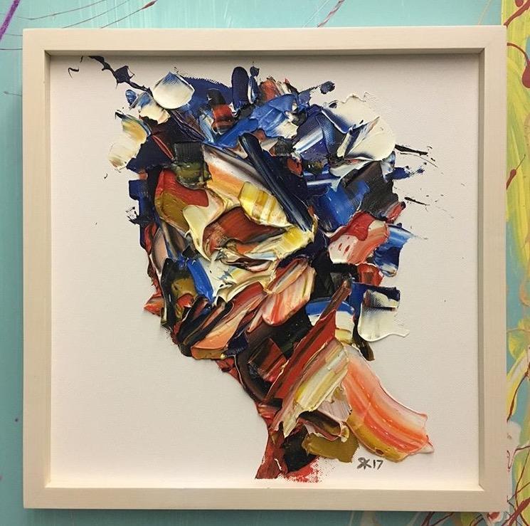 海報主視覺是伊朗畫家Salman Khoshro所設。