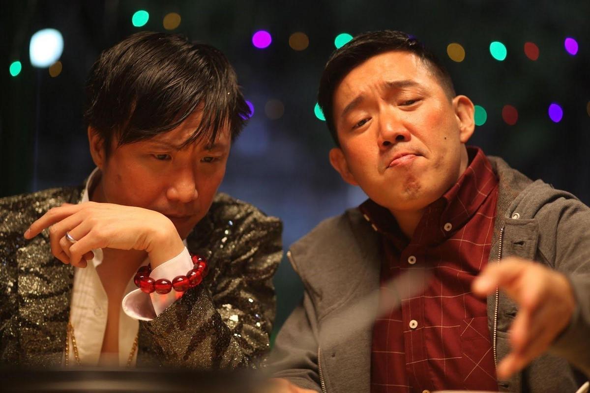 彭浩翔拍攝杜汶澤(右)與鄭中基主演的《低俗喜劇》只花12個工作天。(翻攝自yip7x.wordpress.com)