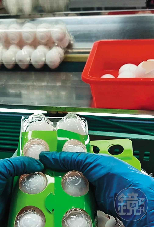 換裝重上市:即期蛋品混入新鮮蛋中,魚目混珠換裝重新上市。