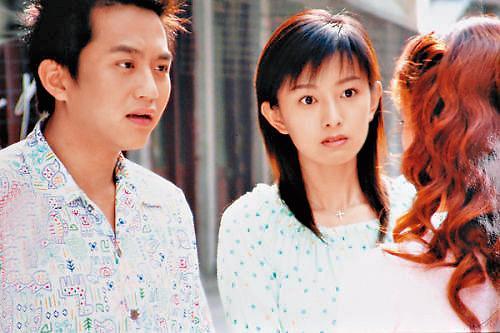 後藤希美子(右)作品不多,淡出演藝界的最後一部戲劇是與鄧超(左)合作的《浪漫的西街》。