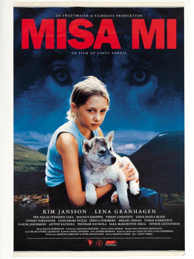 瑞典片《Misa Mi》描述孤獨小女孩與幼狼發展出友誼的故事,劇本出自莉娜哈諾克萊恩之手。(翻攝自themoviedb.org)