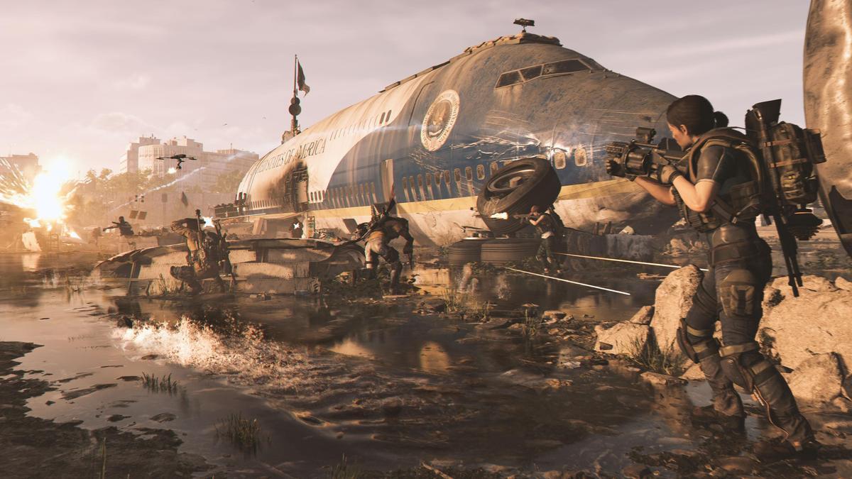 Ubisoft新作《湯姆克蘭西:全境封鎖2》將不會在Steam上架。(翻攝自Ubisoft官網)