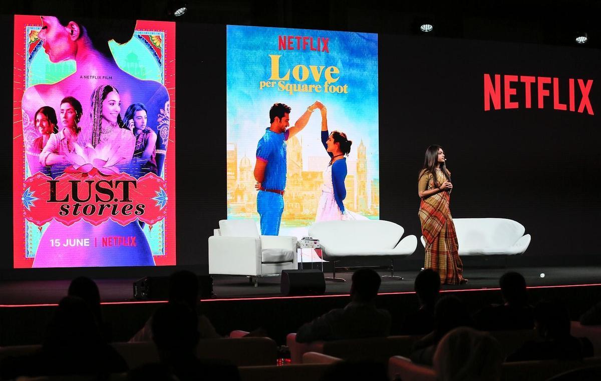 Netflix宣布將推出9部印度原創作品,包括8部電影和1部影集。(Netflix提供)