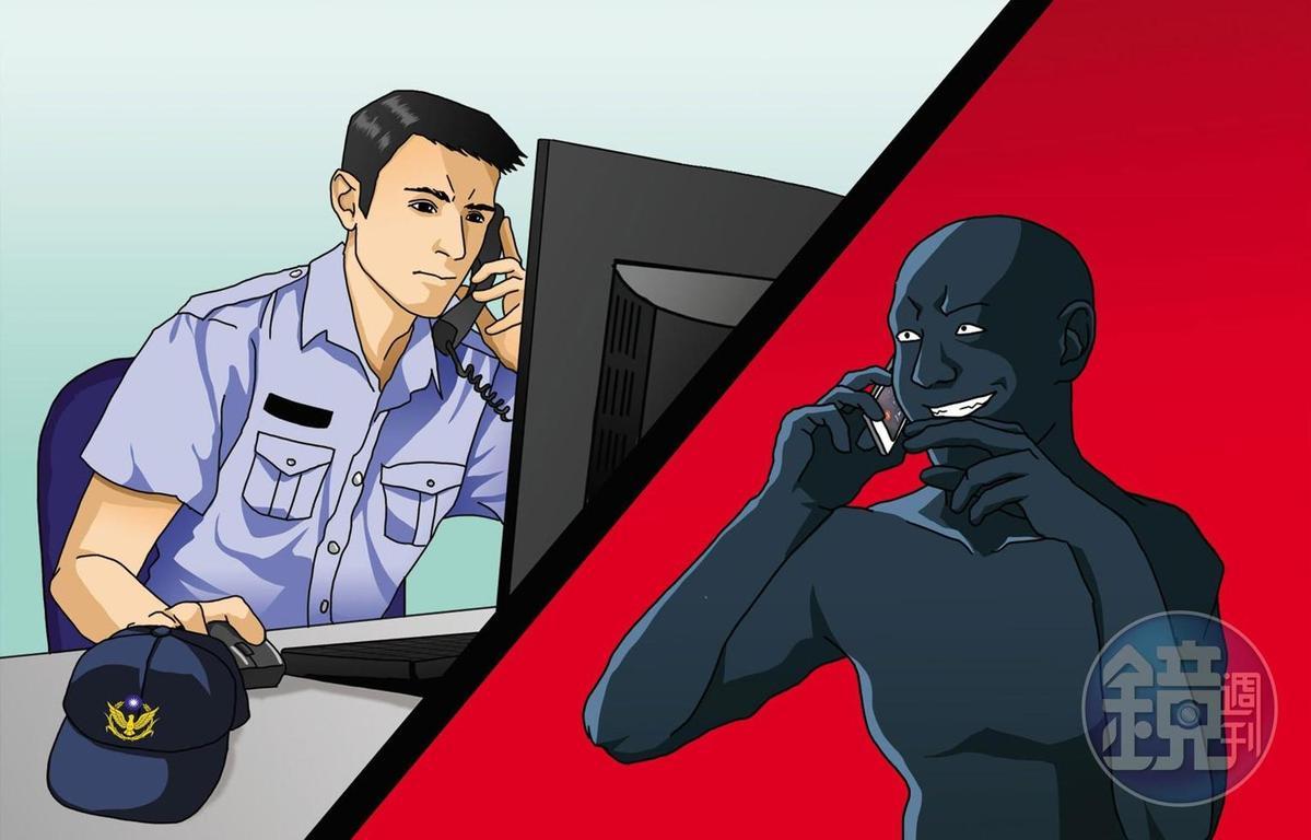 警方常接到檢舉玉蘭花小販的電話。