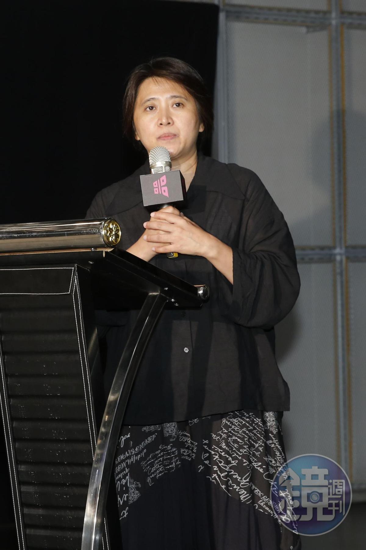 台北電影節總監李亞梅。