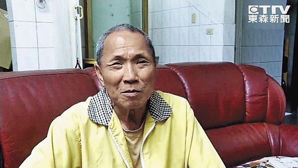 孫岳澤的父親出面罵兒子不孝,深怕房子也受波及遭到拍賣。(翻攝東森新聞)