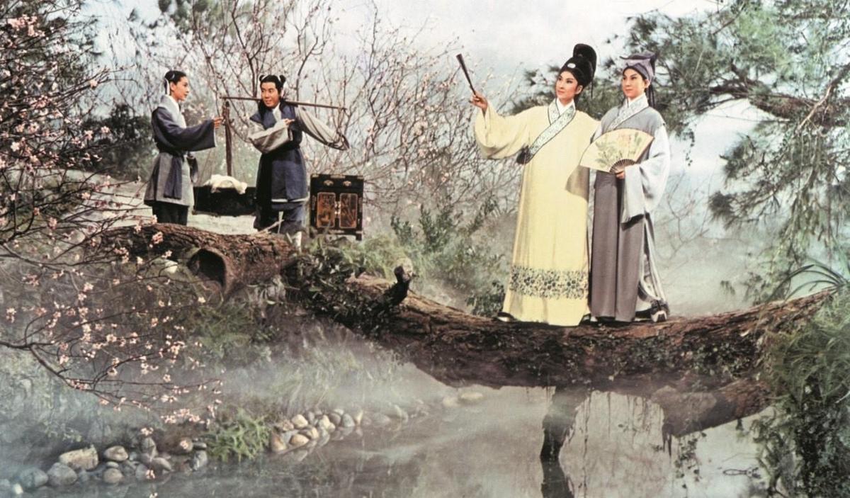 《梁山伯與祝英台》在奇幻影展的「K歌場」勾起不同世代影迷的回憶。(金馬執委會提供)