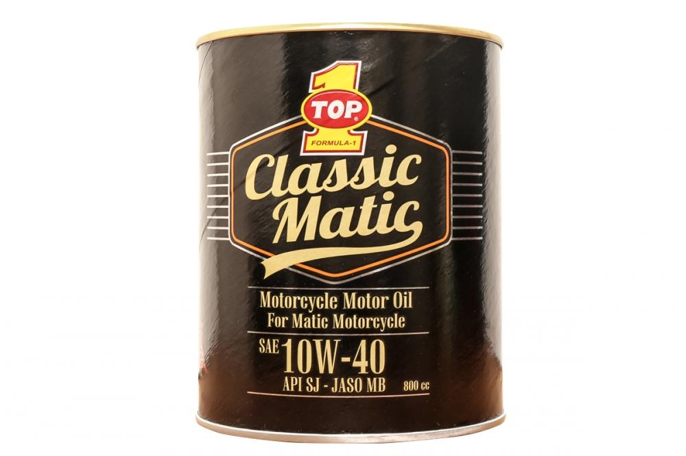Top1 Classic Matic就是礦物油所打造的機油。