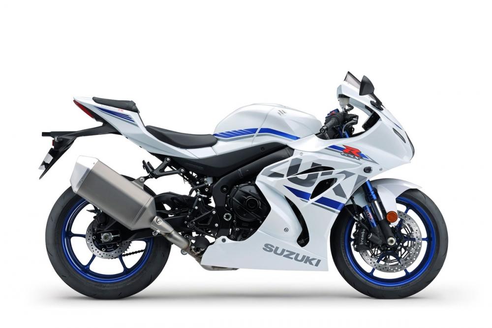 2018 SUZUKI GSX-R1000R白色塗裝也與GP式樣有幾分相似。