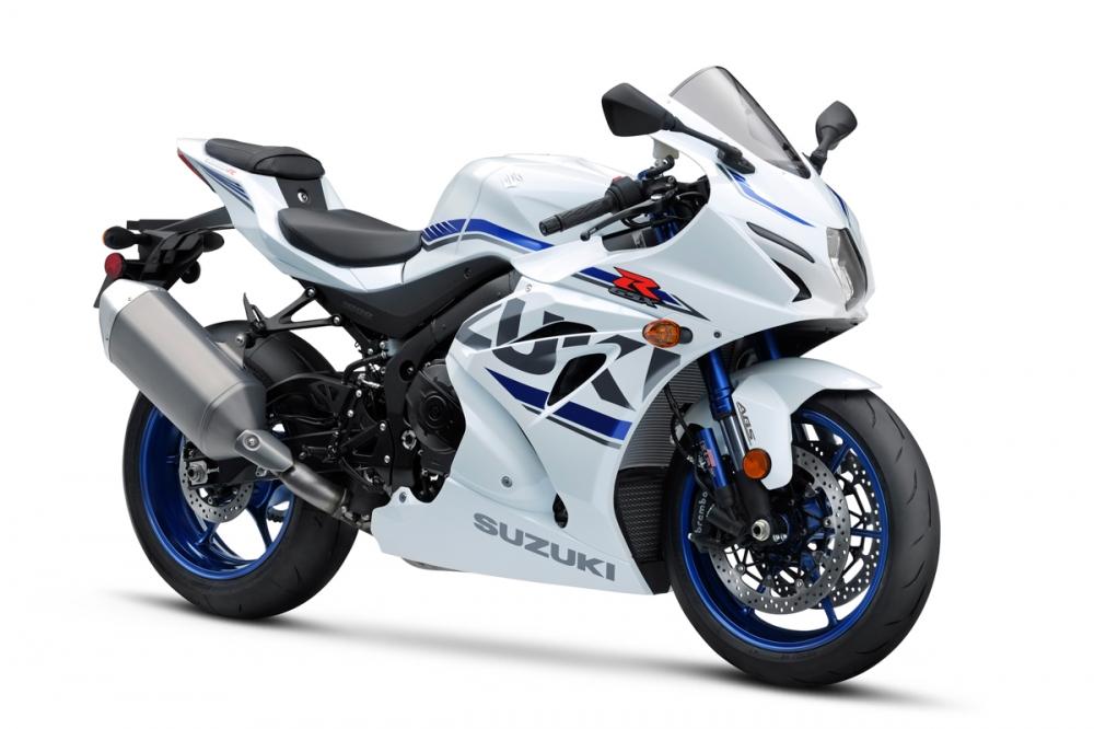 2018 SUZUKI GSX-R1000R白色塗裝。