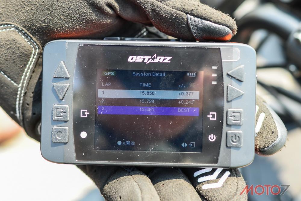 使用Qstarz LT-6000S 進行測試。