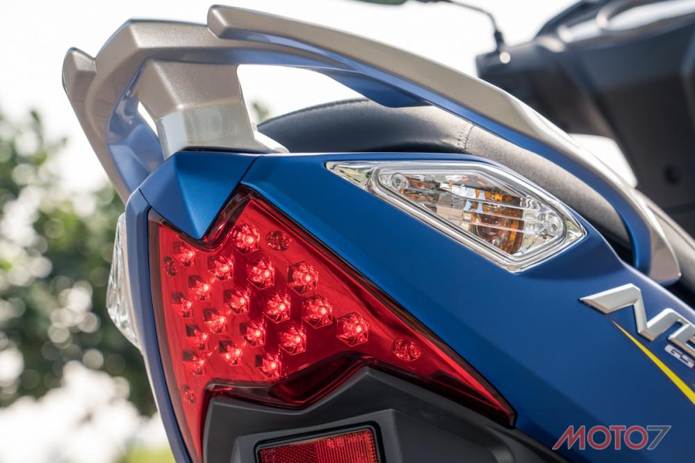 尾燈部分有著相當獨到的造型,並且搭配高亮度LED燈泡。