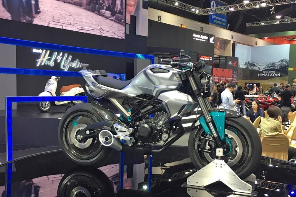 150SS Racer Concept 有著高性能配備與市場平價車款做出區隔。