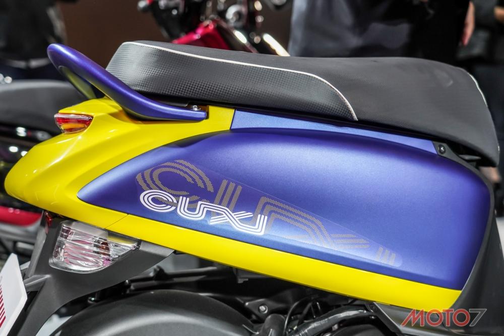 車尾上揚的造型宛如性感的翹臀,是CUXI至今改款幅度最大的一點。