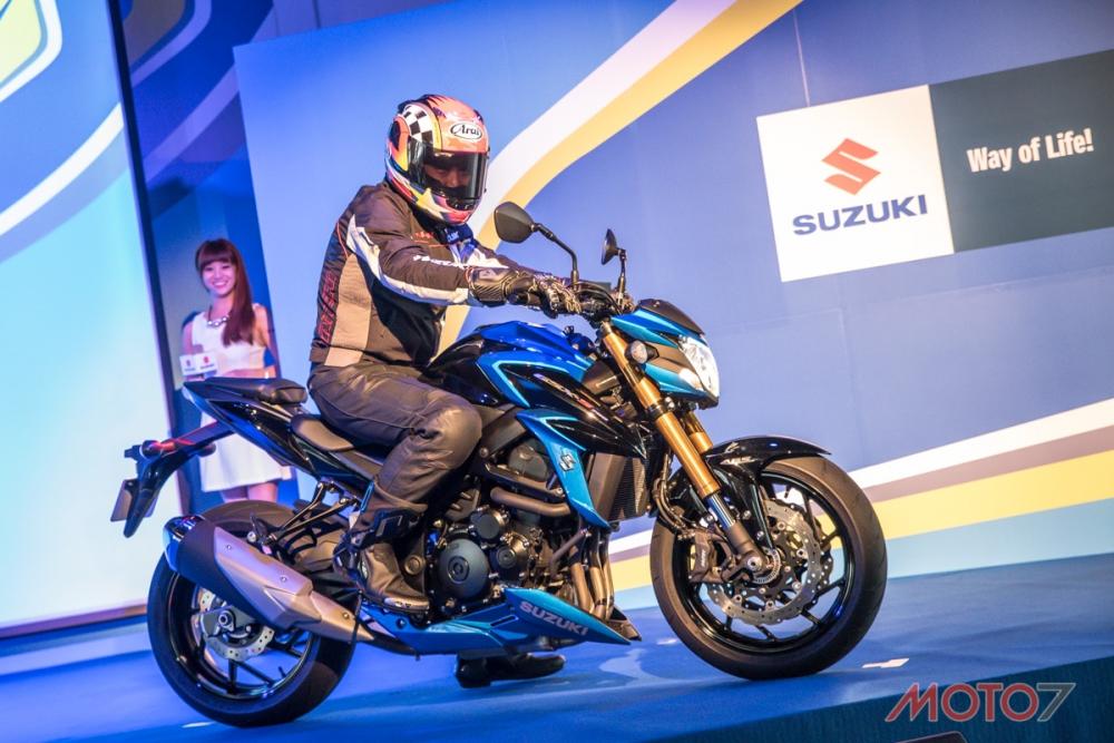 2017 SUZUKI GSX-S750。