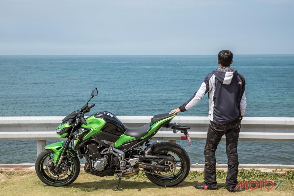 KAWASAKI Z900詳盡的試駕報告請鎖定Moto7。