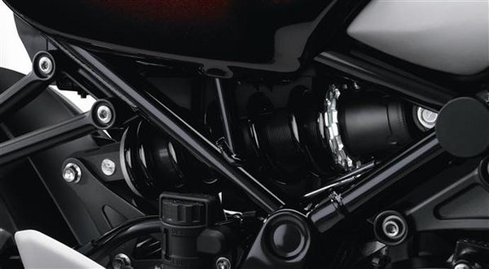 Horizontal水平後懸吊設計在KAWASAKI旗下的Super Bike車種上為常見的配置。