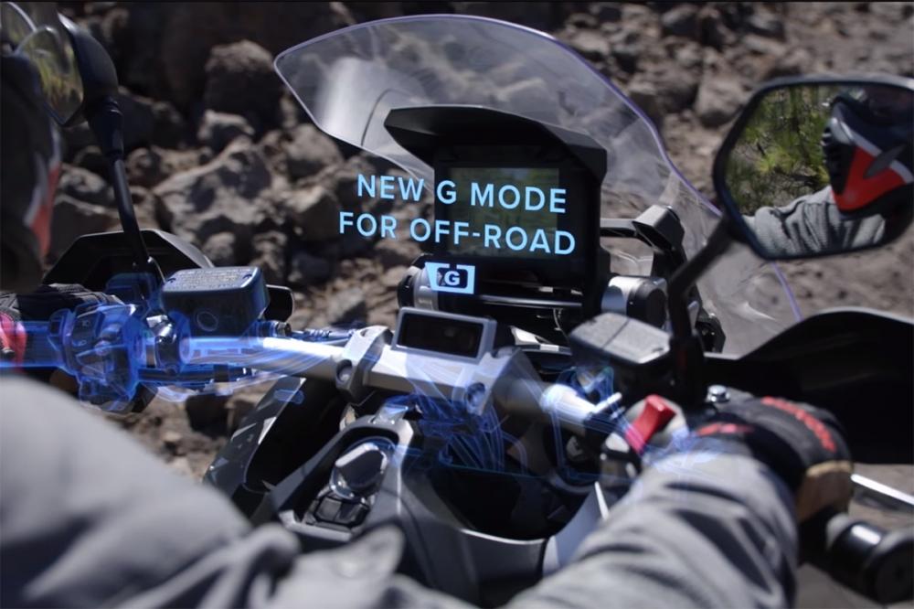 增添G mode功能強化X-ADV越野能力。