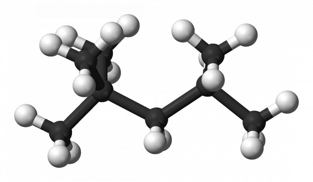 異辛烷,化學式:C8H18。