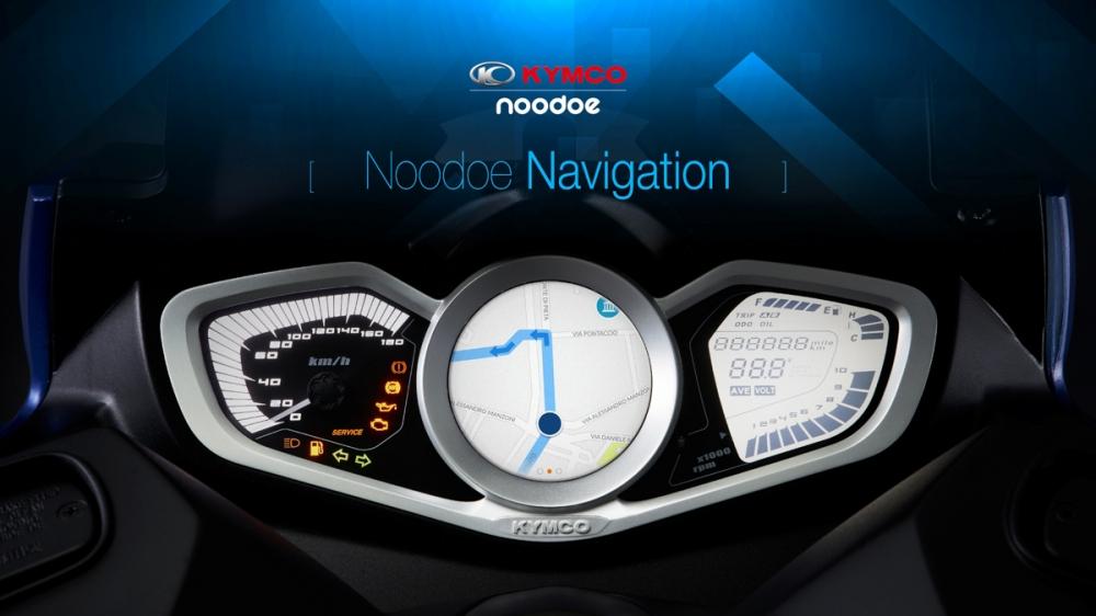 Noodoe Navigation將會帶來便利、安全的騎乘體驗。