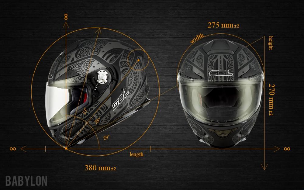 全罩安全帽在意外發生時能給予最完善的保護。(SOL SF5)