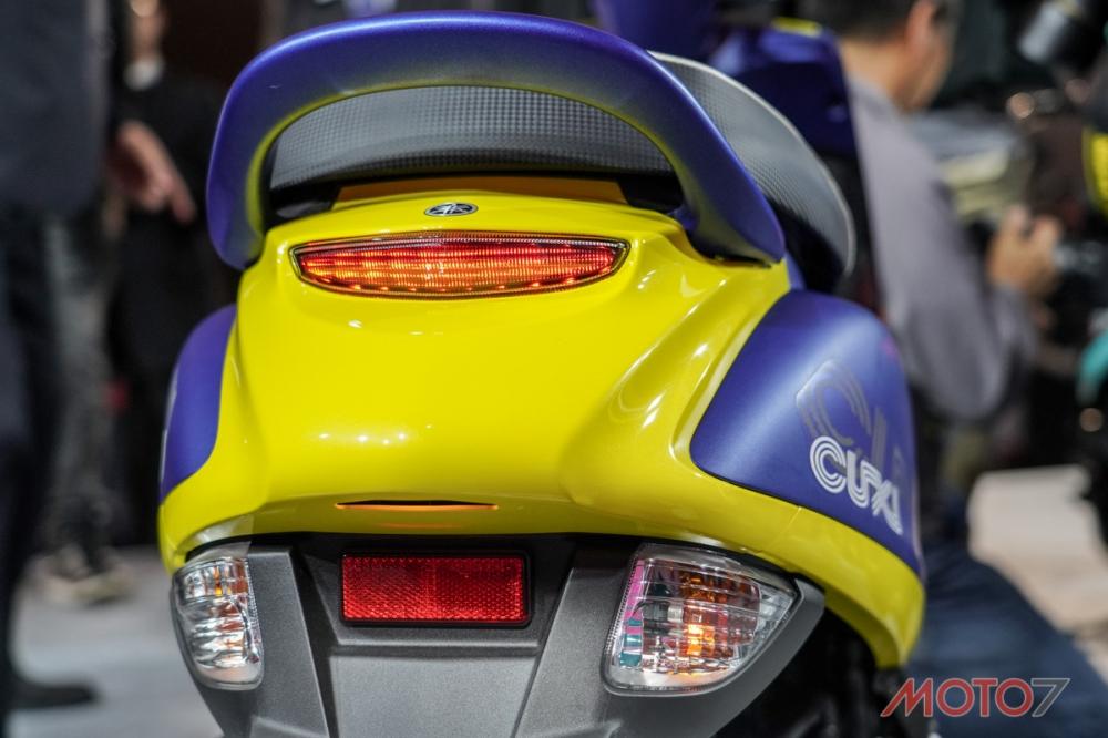 後方向燈與煞車燈採分離設計,提供更加優異的辨識度。