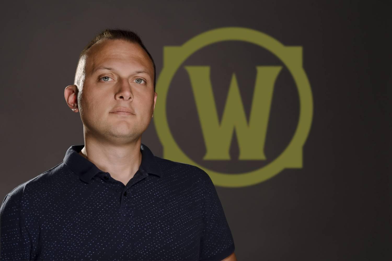 《魔獸世界》遊戲總監Ion Hazzikostas。