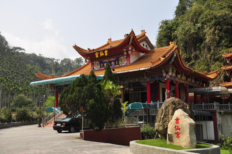 吉仙宮供奉觀世音菩薩,為當地的信仰中心之一。 圖:蕭沛涵/攝