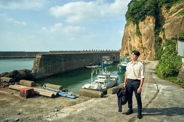 幽靜、人煙稀少的水湳洞漁港,成為許多台劇電影的取景地。圖:取自我們與惡的距離粉專