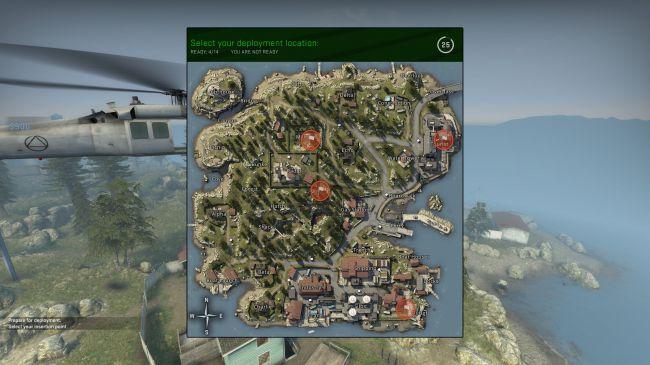 危險地帶目前唯一公布的地圖「Blacksite」,地圖小節奏快速。