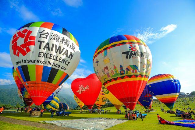 2014臺灣國際熱氣球嘉年華圖片提供/台東縣政府