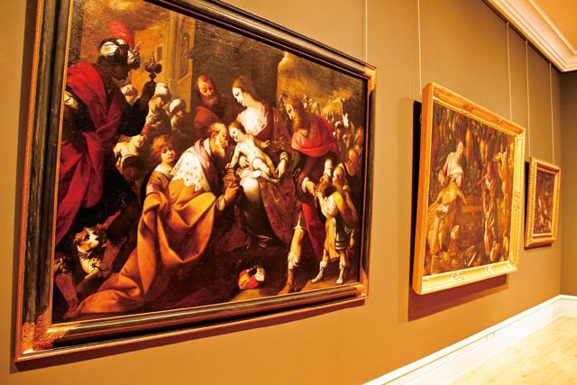 艺术厅收藏大量13到20世纪的西洋艺术画作,不可错过。
