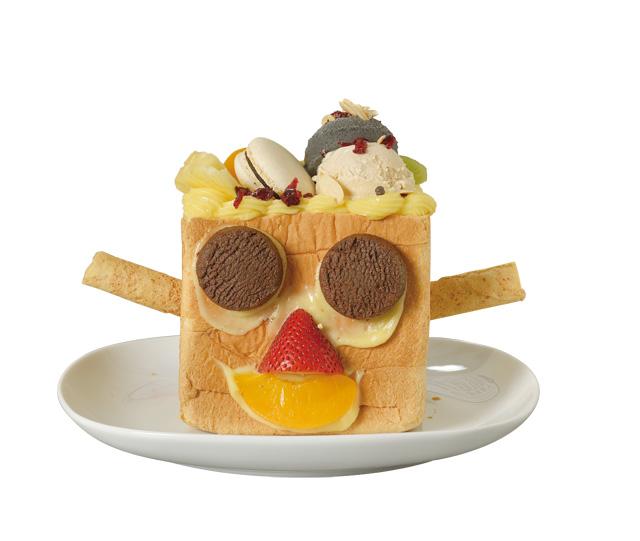 元至幸福—手作蜜糖吐司/在老师指导之下,以郭元益的糕饼为装饰食材,做出创意的蜜糖吐司喔!