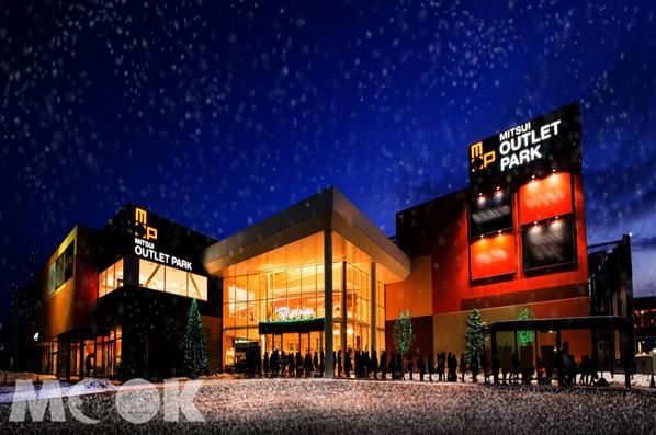 三井OUTLET PARK札幌北廣島,打造夢幻雪祭,邀旅客一起玩雪屋、看企鵝、迎新春。(圖/日本三井OUTLET,以下同)