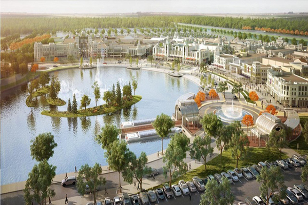 麗寶集團打造全台首座以沿湖設計的Outlet (圖/麗寶集團)