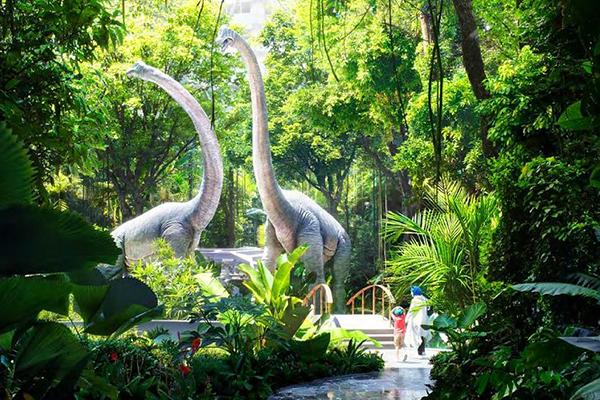 羅斯夢旅館打造熱帶雨林 (圖/Rosemont Hotel,以下同)